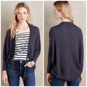 Anthropologie Selby Tie-Front Cardigan